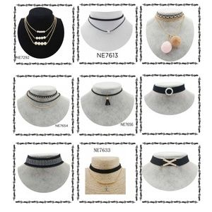 Jewelry - Lot of 9 Chokers Necklace